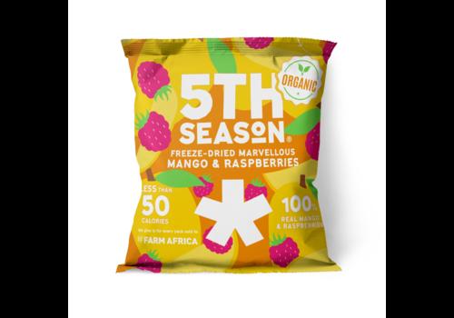 5th Season Mango & Raspberry Bites (14g) – BIO