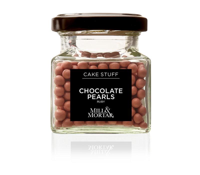 Chocolade Parels - Ruby (45g)