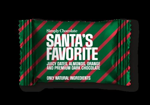 Simply Chocolate Santa's Favorite mini (10g) - 1st.