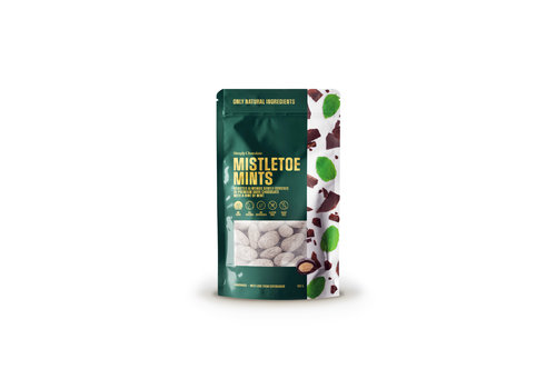 Simply Chocolate Mistletoe Mints (100g) – To Go Bag