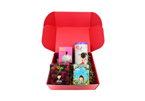 Or Tea? Gift Box: Roses are forever
