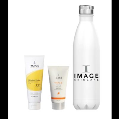 IMAGE Skincare Image Skincare Zomer Duo Water Burst, waterfles & PREVENTION+ Matte SPF 32