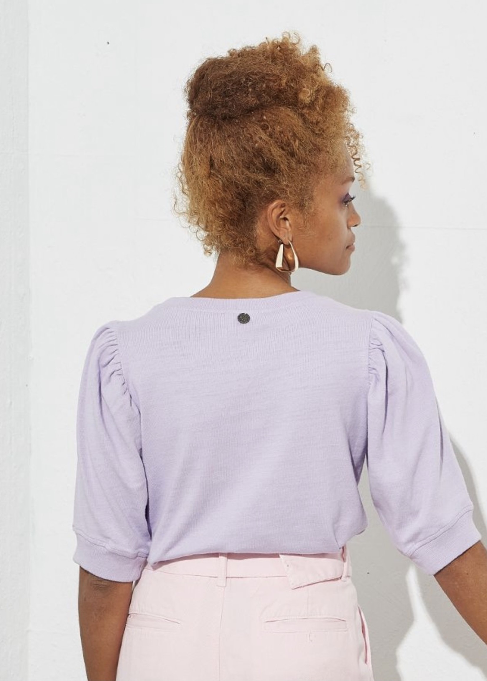 Guts & Goats Theodora Purple Shirt