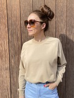 Guts & Goats Gilly Beige Sweater