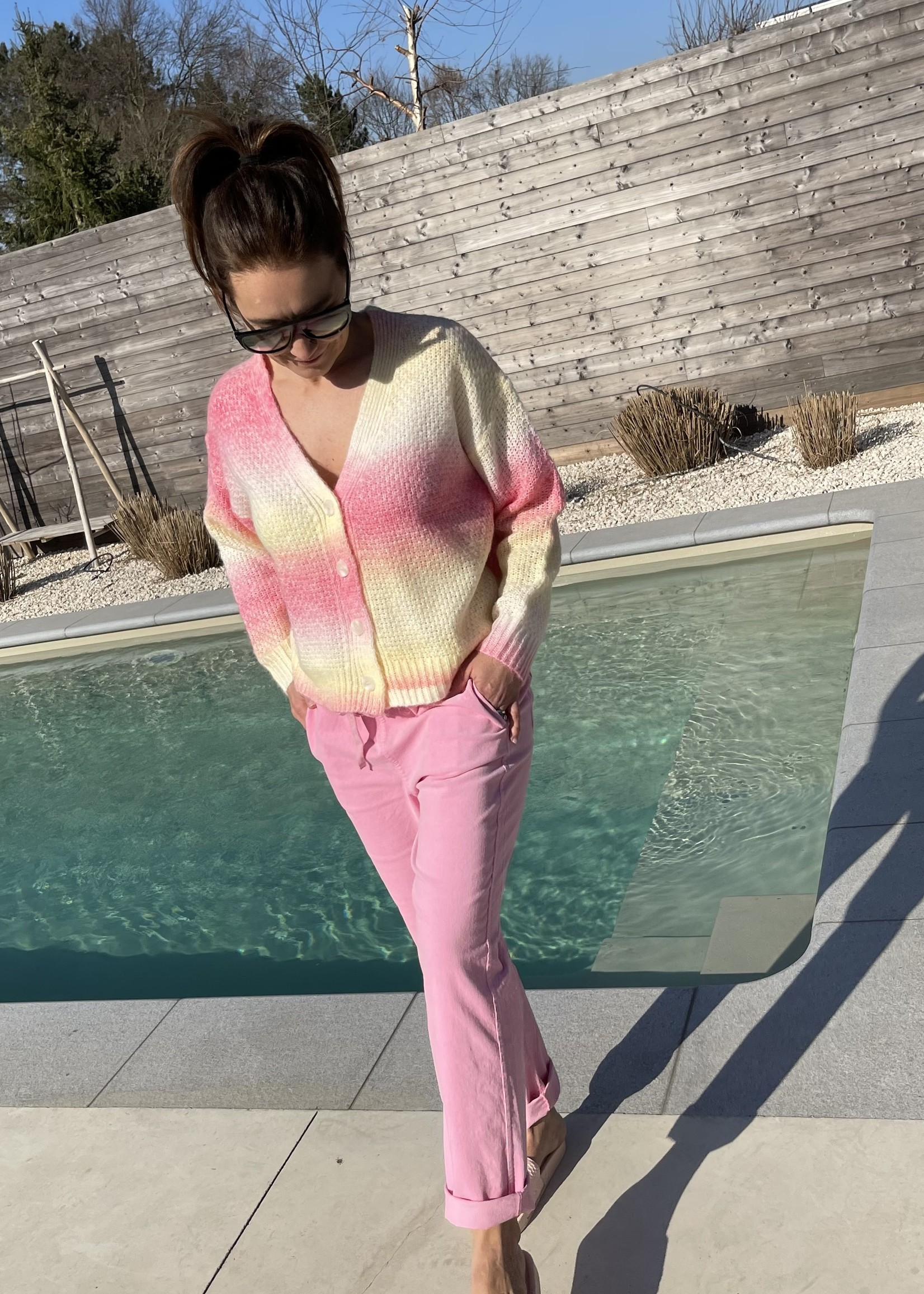 Guts & Goats Leonie Pink Pants