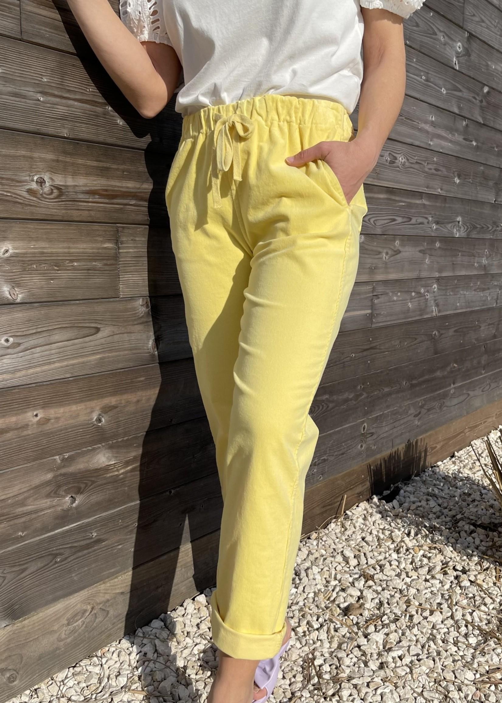 Guts & Goats Leonie Yellow Pants