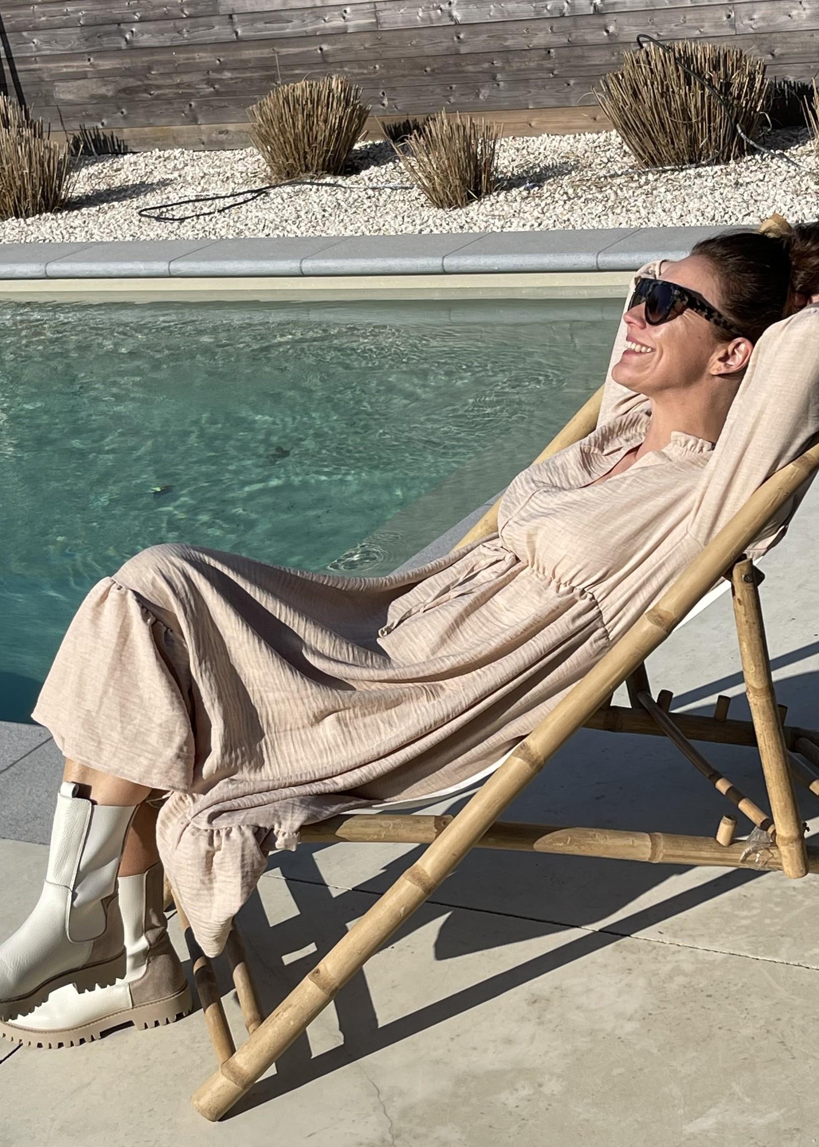 Guts & Goats Valentina Sand Dress