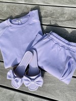 Guts & Goats Julia Lavender Shorts