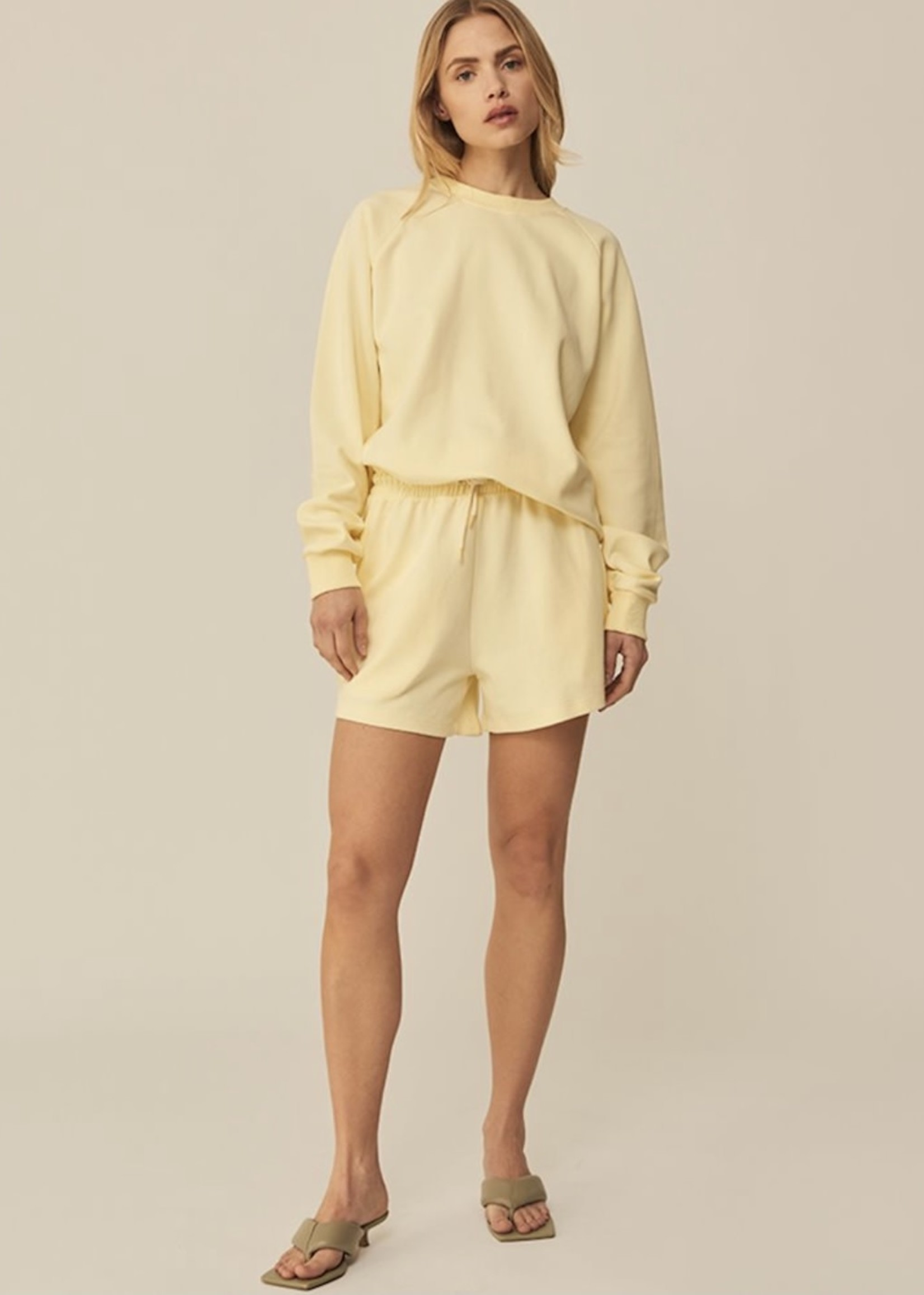 Guts & Goats Julia Yellow Shorts