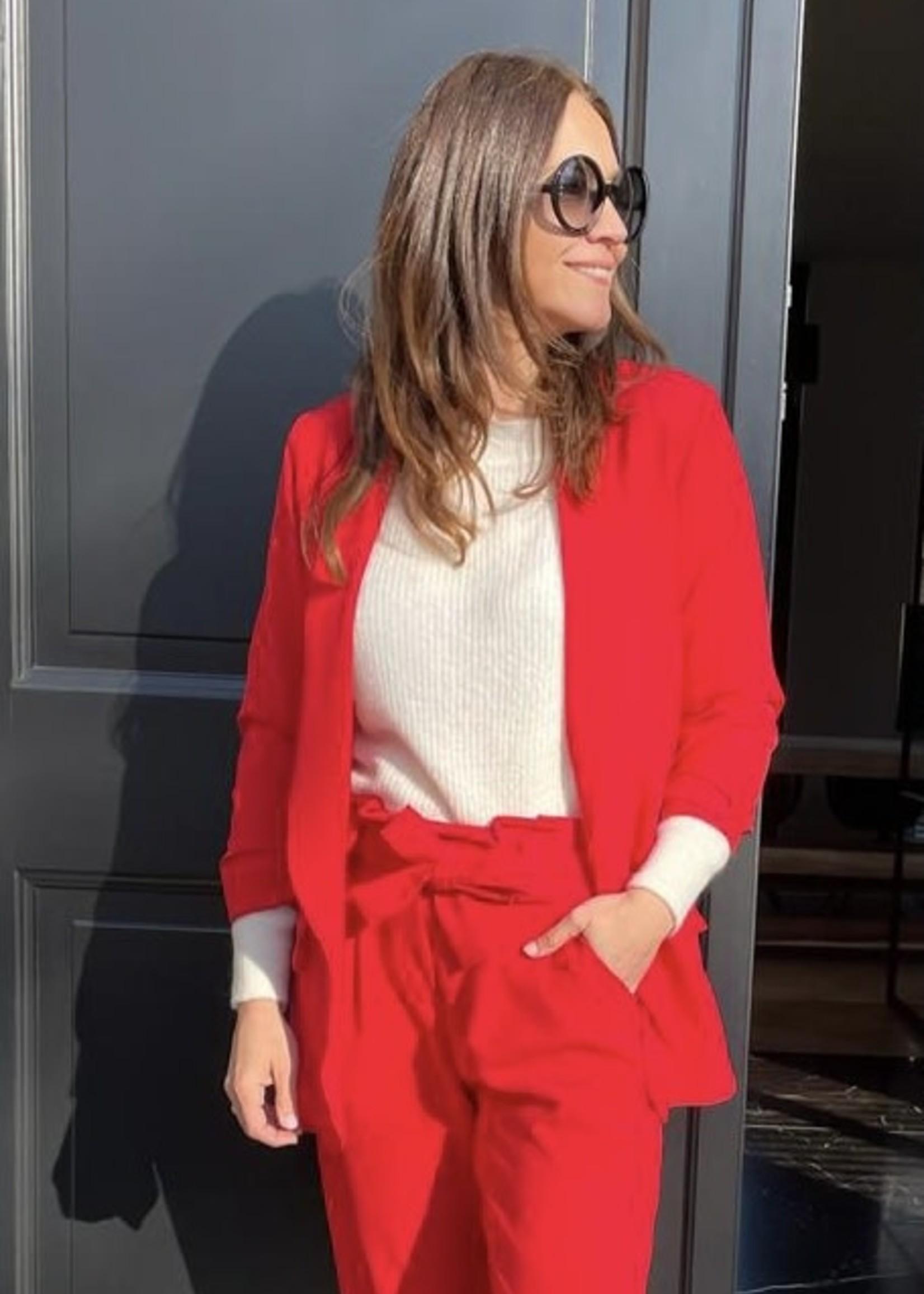 Guts & Goats Marilen Red Blazer