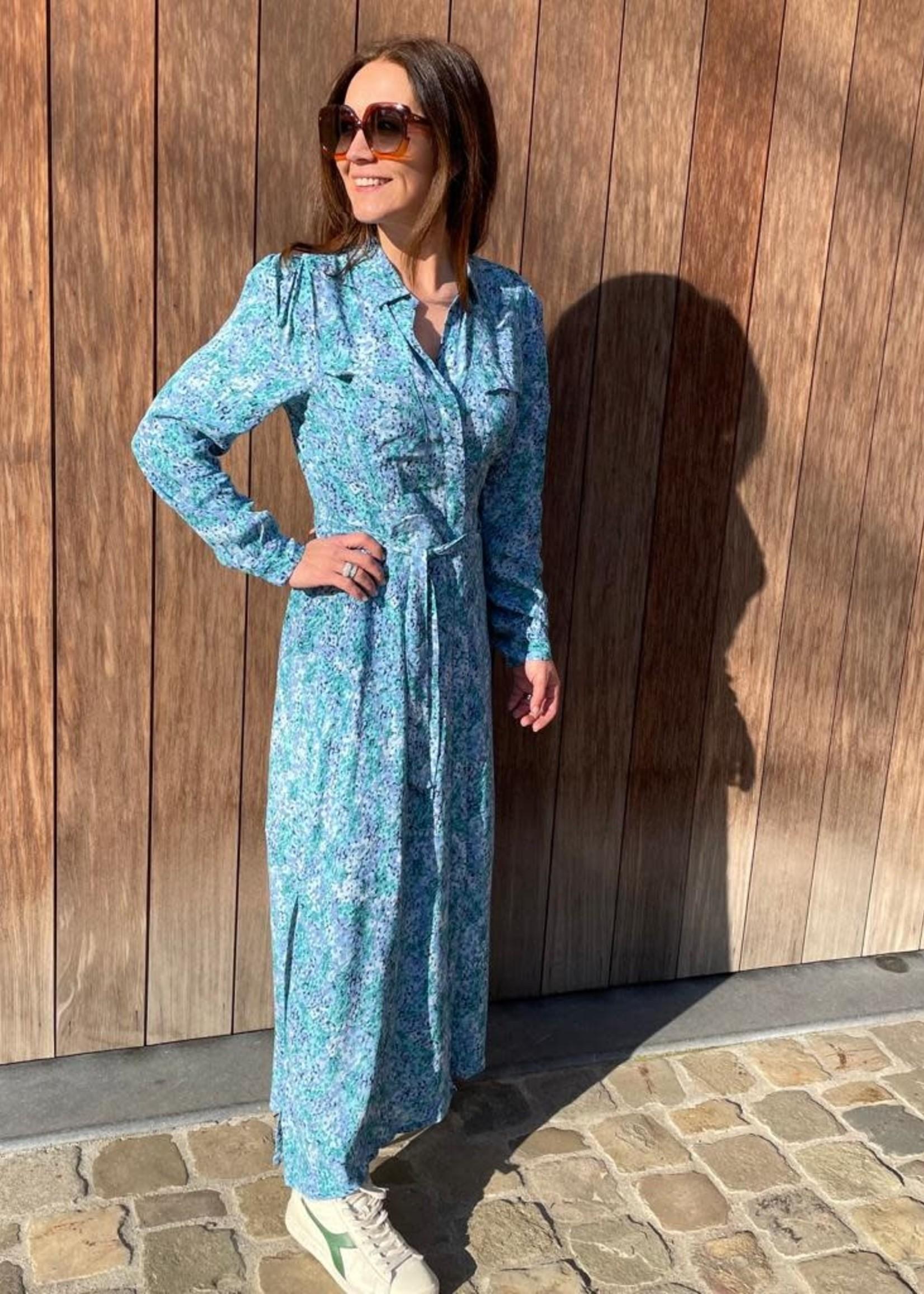 Guts & Goats Sylvia Blue Dress