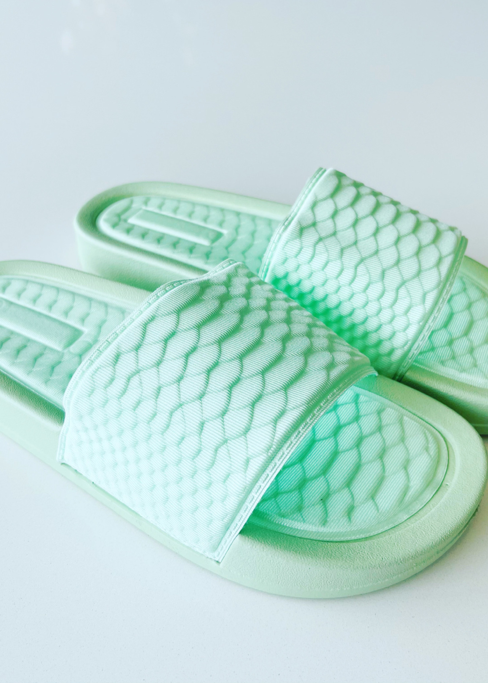 Guts & Goats Stella Mint Sandals
