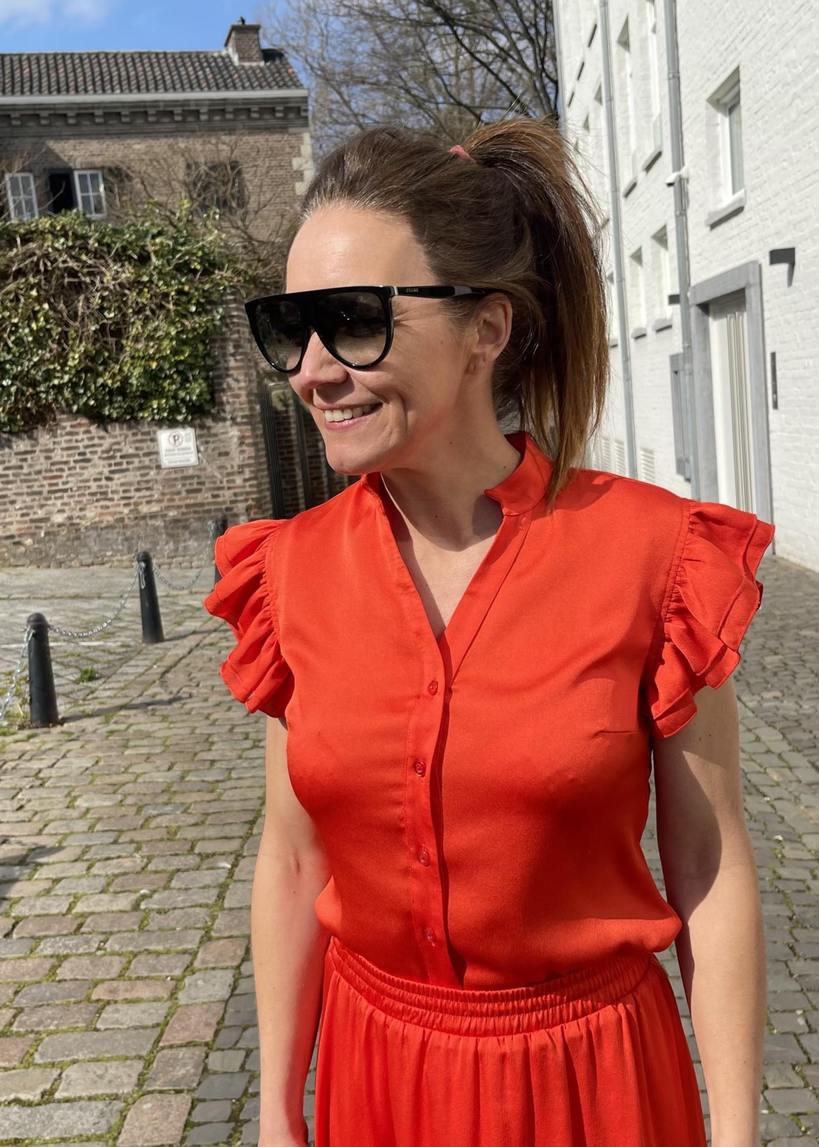 Guts & Goats Red Pepper Skirt