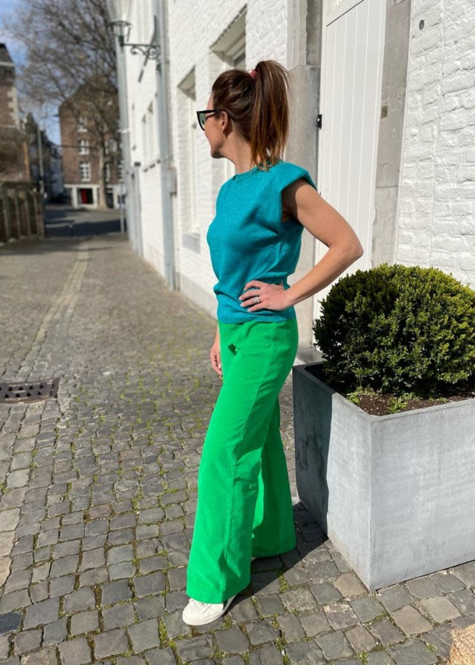 Guts & Goats Trixie Apple Green Pants