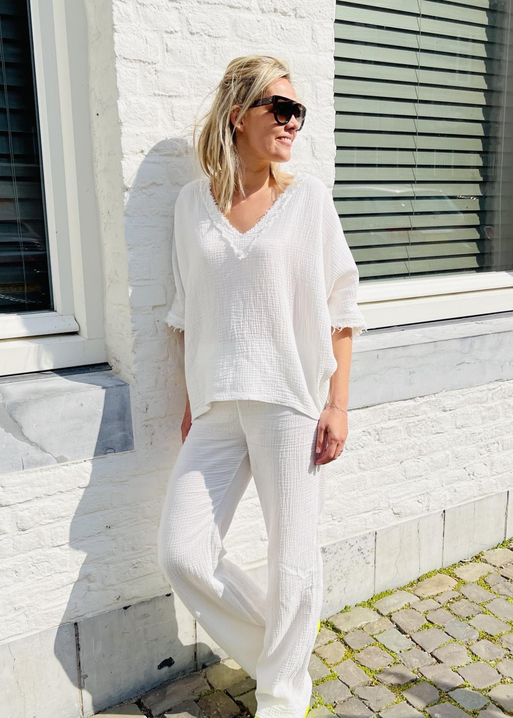 Guts & Goats Tetra White Shirt