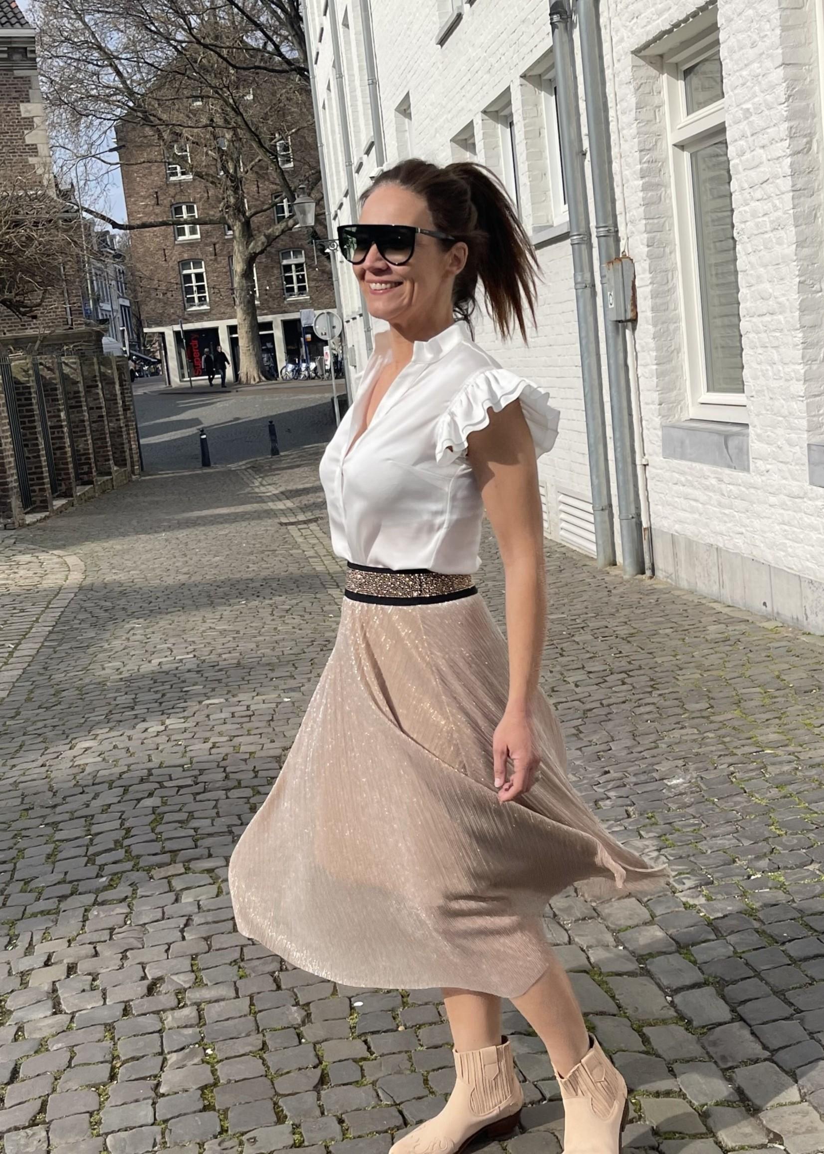 Guts & Goats Virginia Pink Skirt