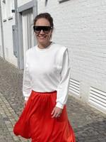 Guts & Goats Siri White Sweater