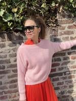 Guts & Goats Bateau Pink Pull