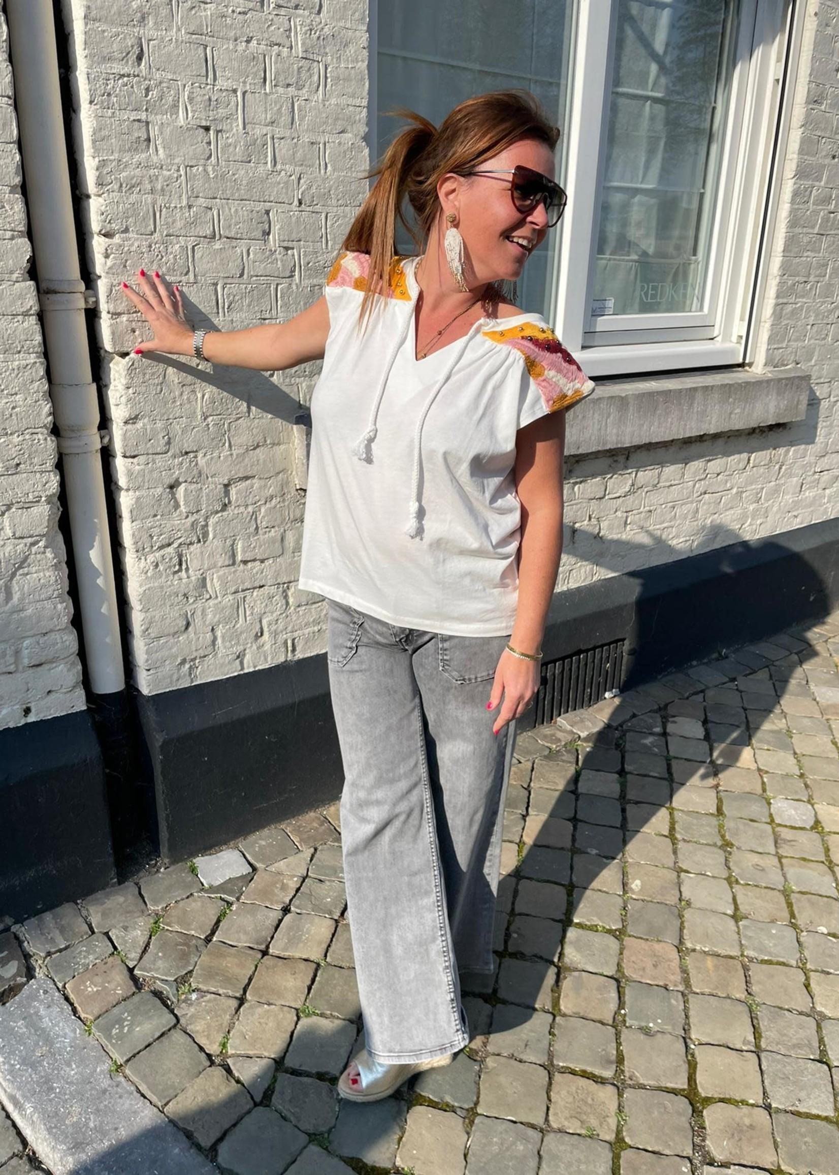 Guts & Goats Romee Grey Jeans