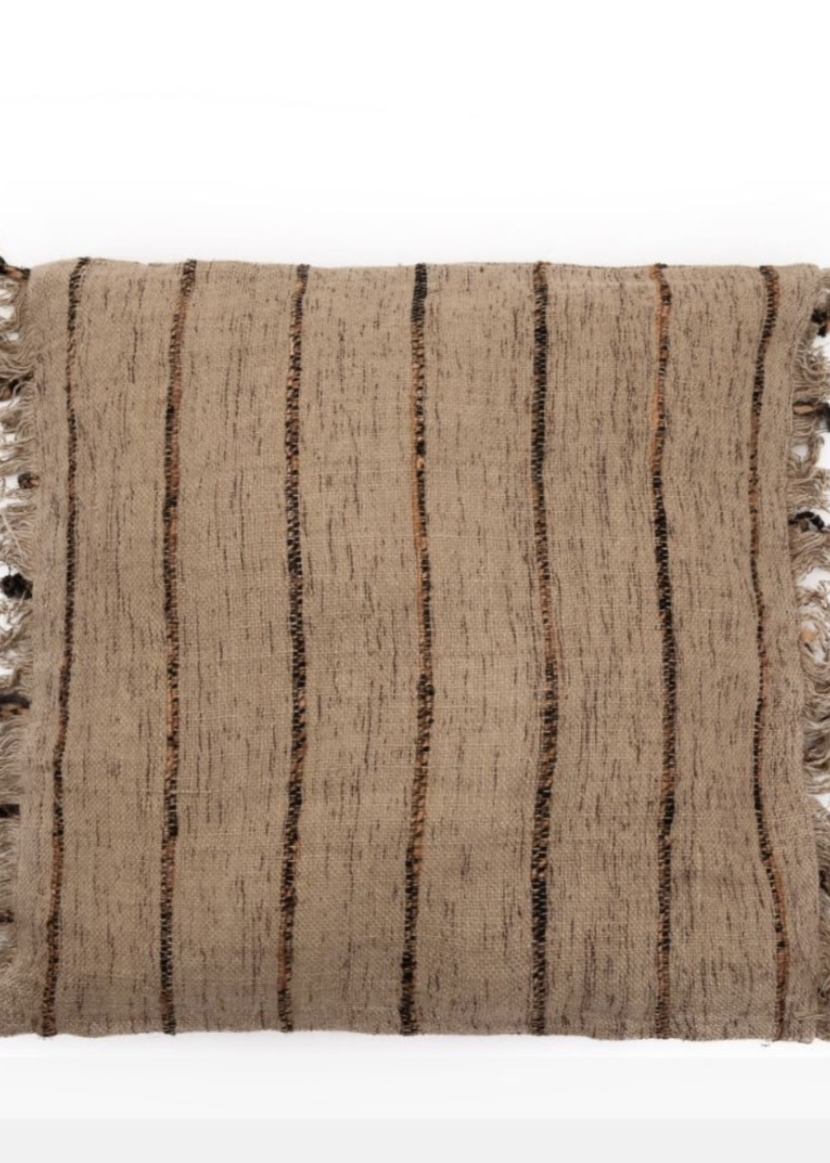 Guts & Goats The Oh My Gee Cushion Cover - Beige Black