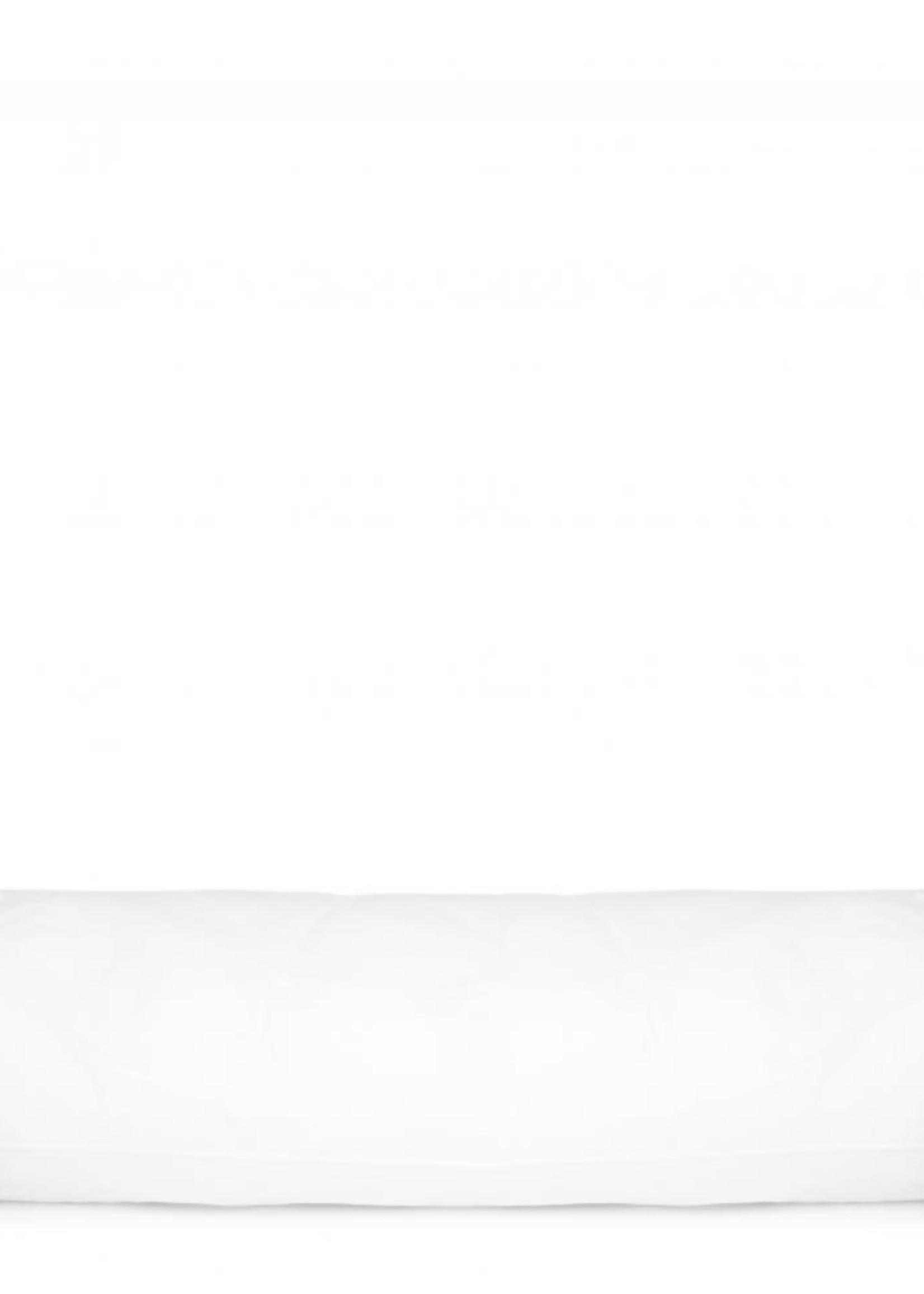 Guts & Goats White Inner Cushion Rectangular