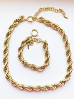 Guts & Goats Pilgrim Bracelet Torsade Gold