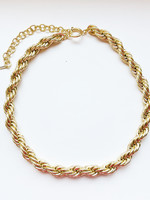 Guts & Goats Pilgrim Torsade Necklace Gold