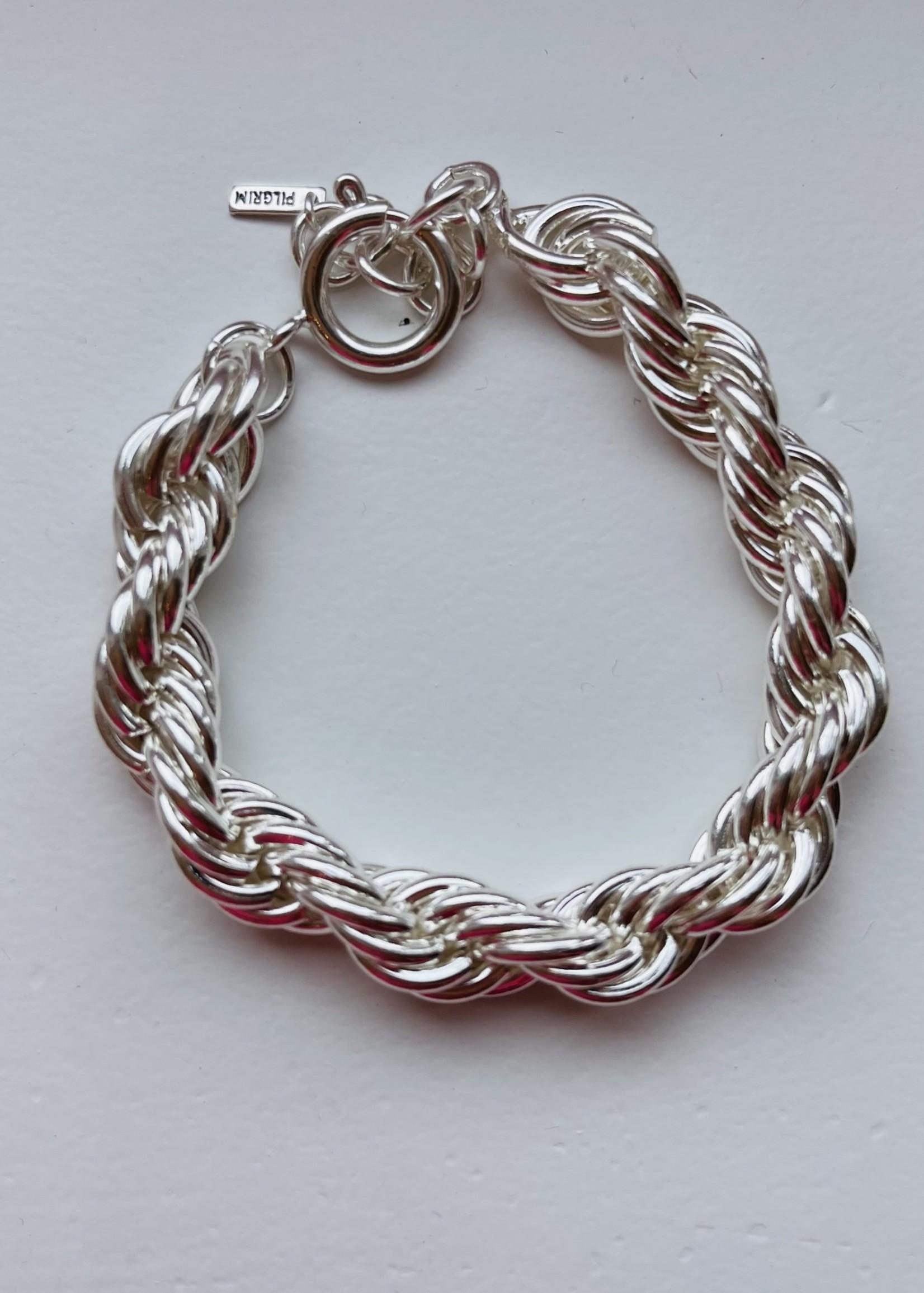 Guts & Goats Pilgrim Bracelet Torsade Silver