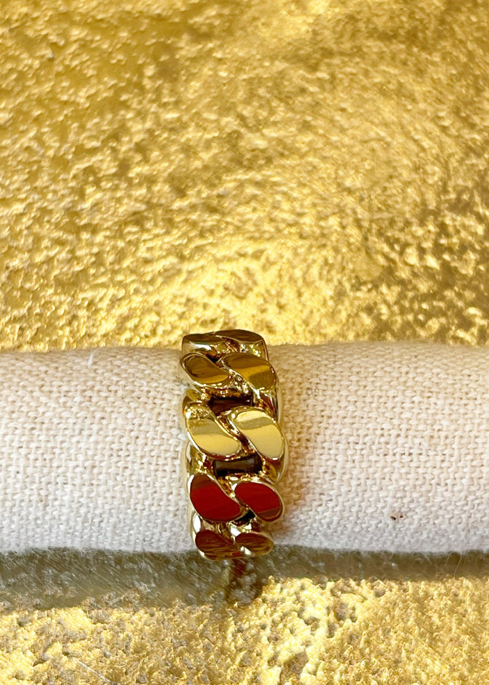 Guts & Goats Pilgrim Ring Gold
