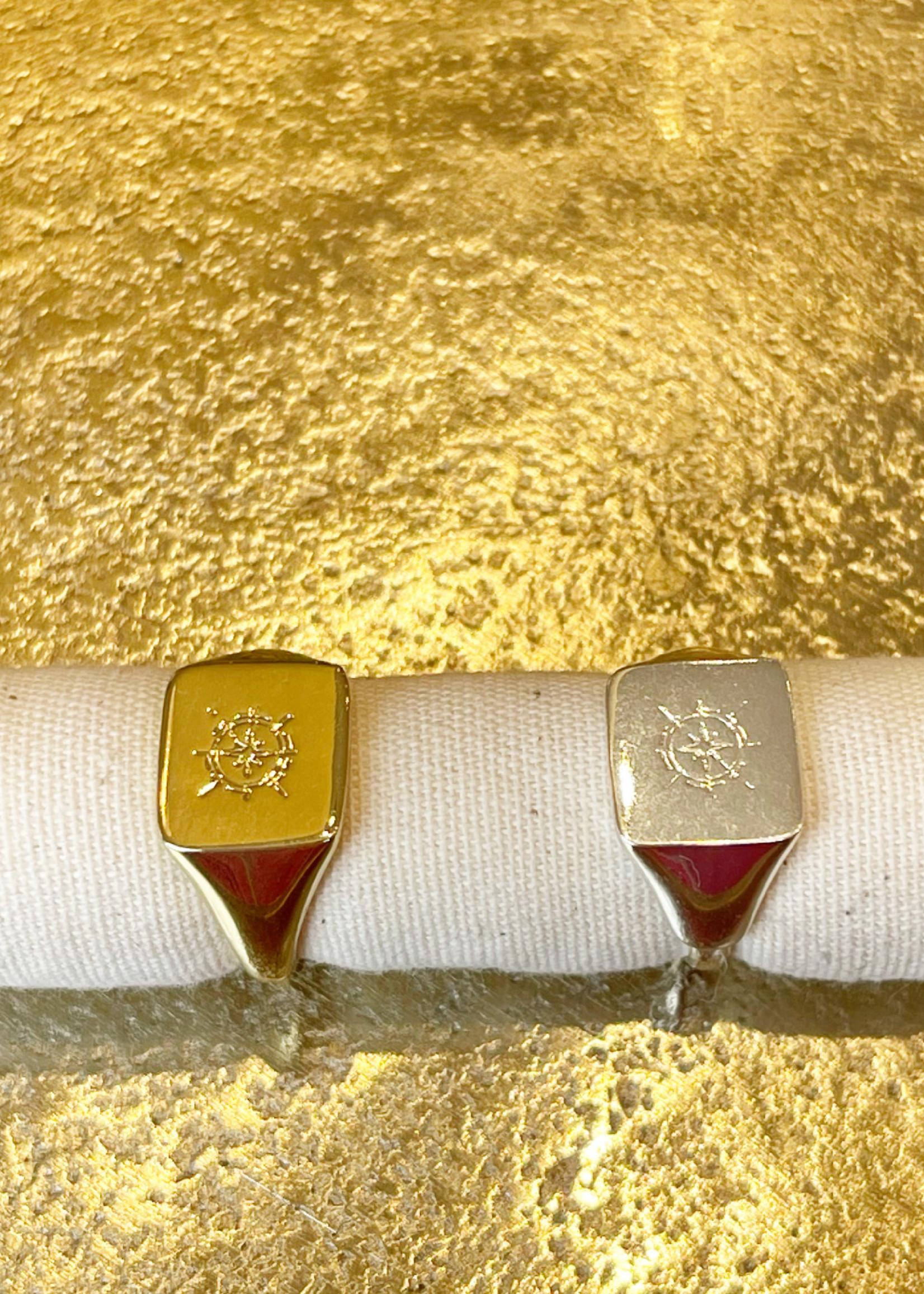Guts & Goats Alighieri Ring Gold