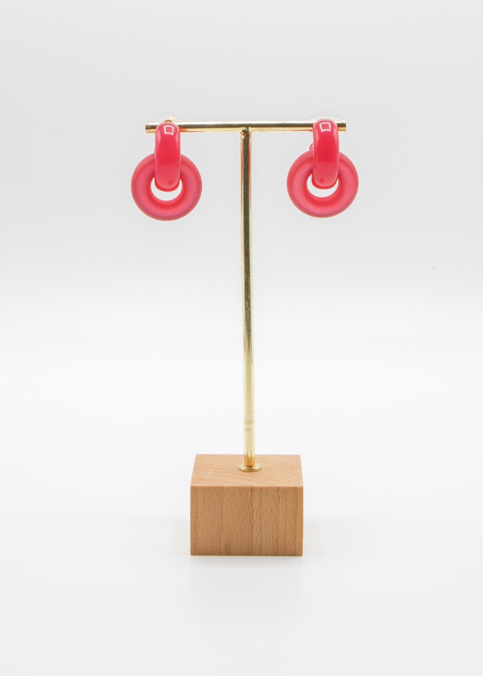 Guts & Goats Maude Pink Earrings