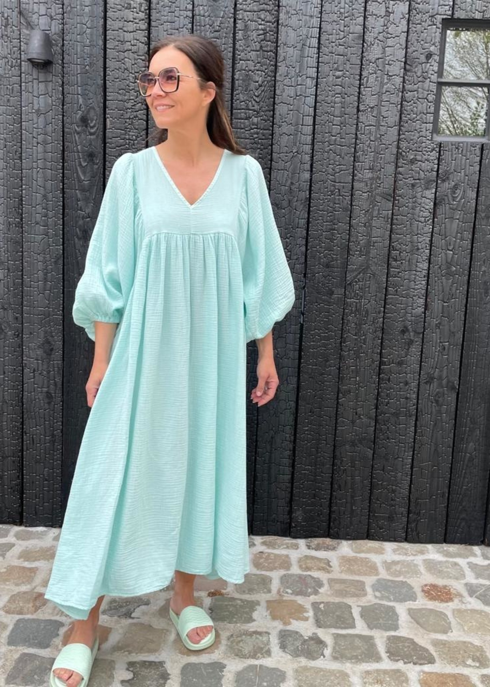 Guts & Goats Louanne Mint Dress