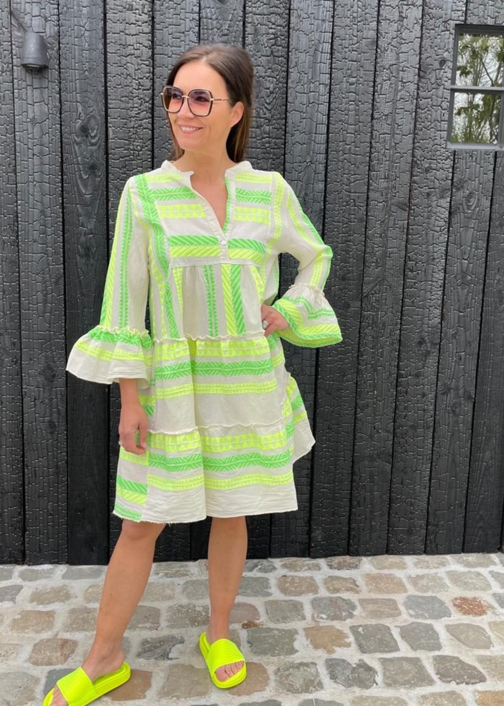 Guts & Goats Greek Green Dress