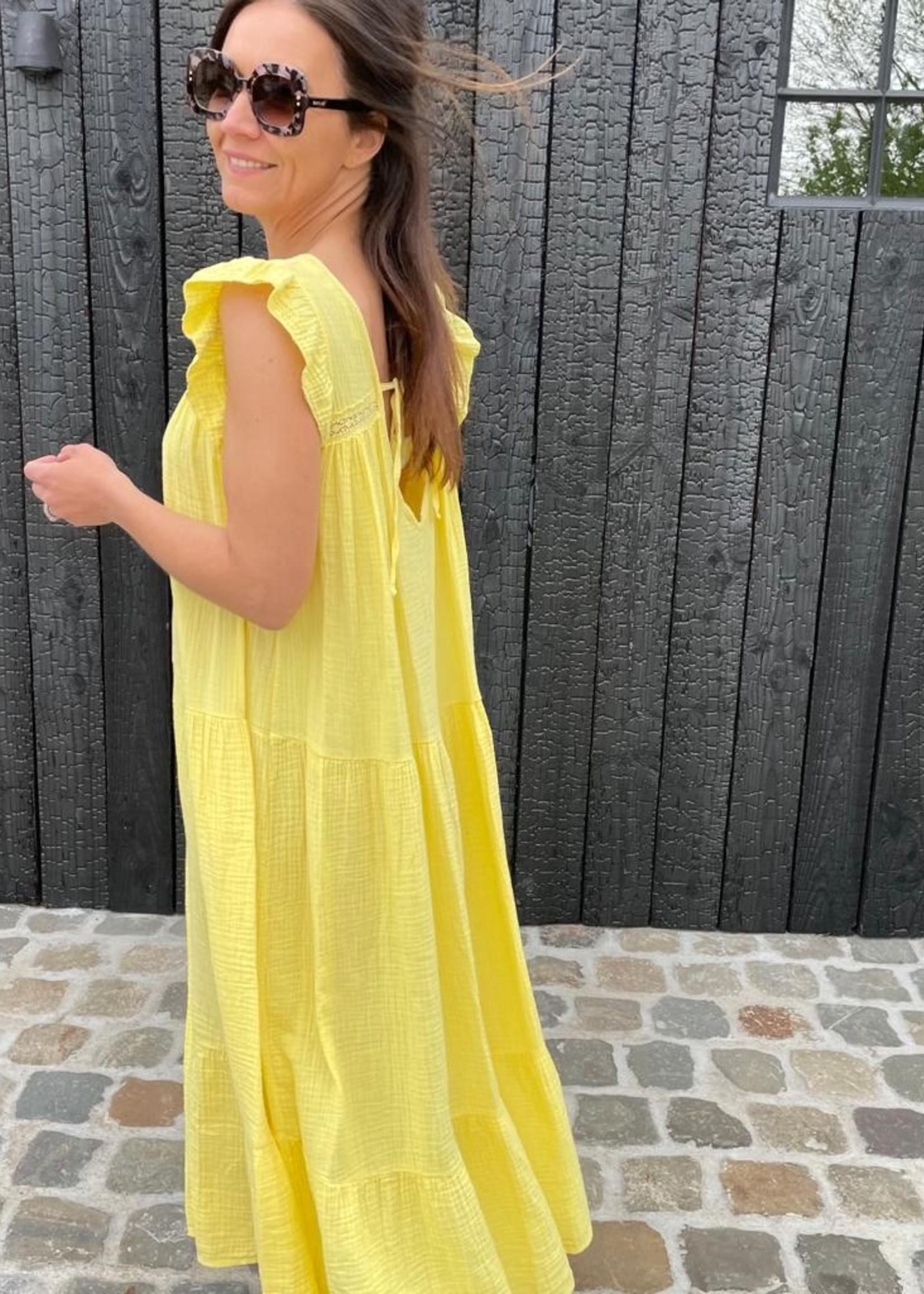 Guts & Goats Micheline Dress Yellow