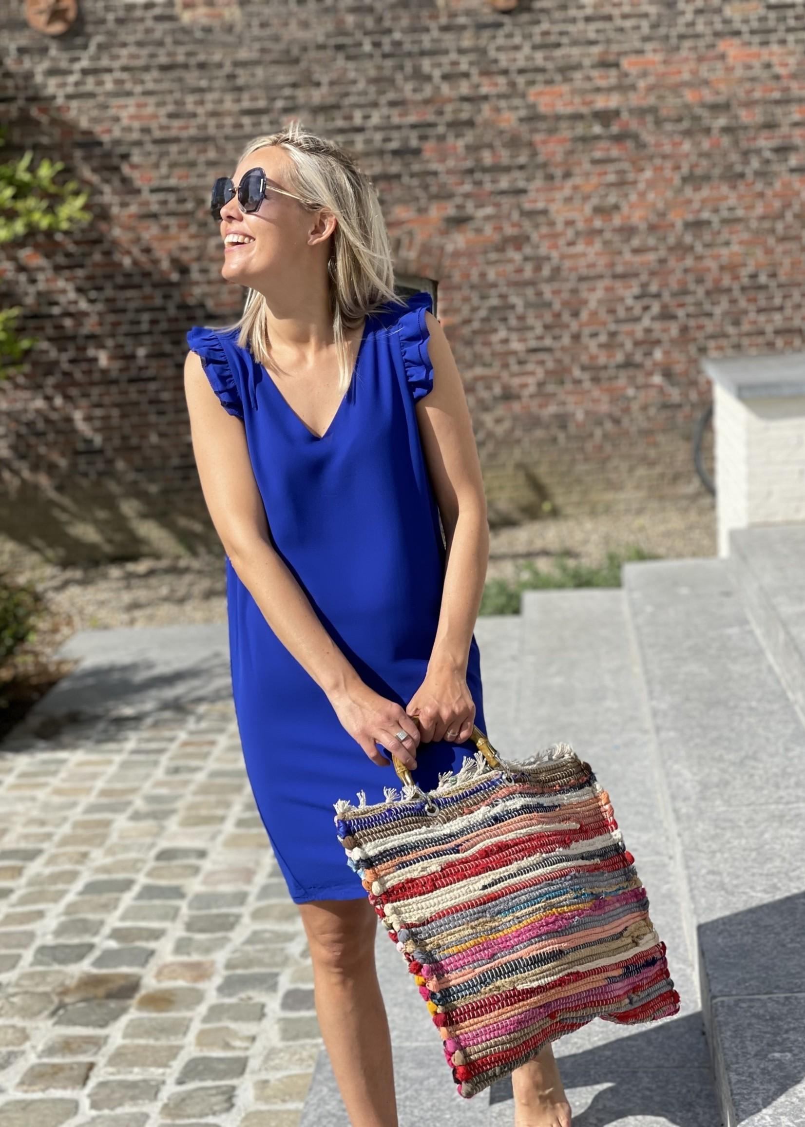 Guts & Goats Mila Blue Dress