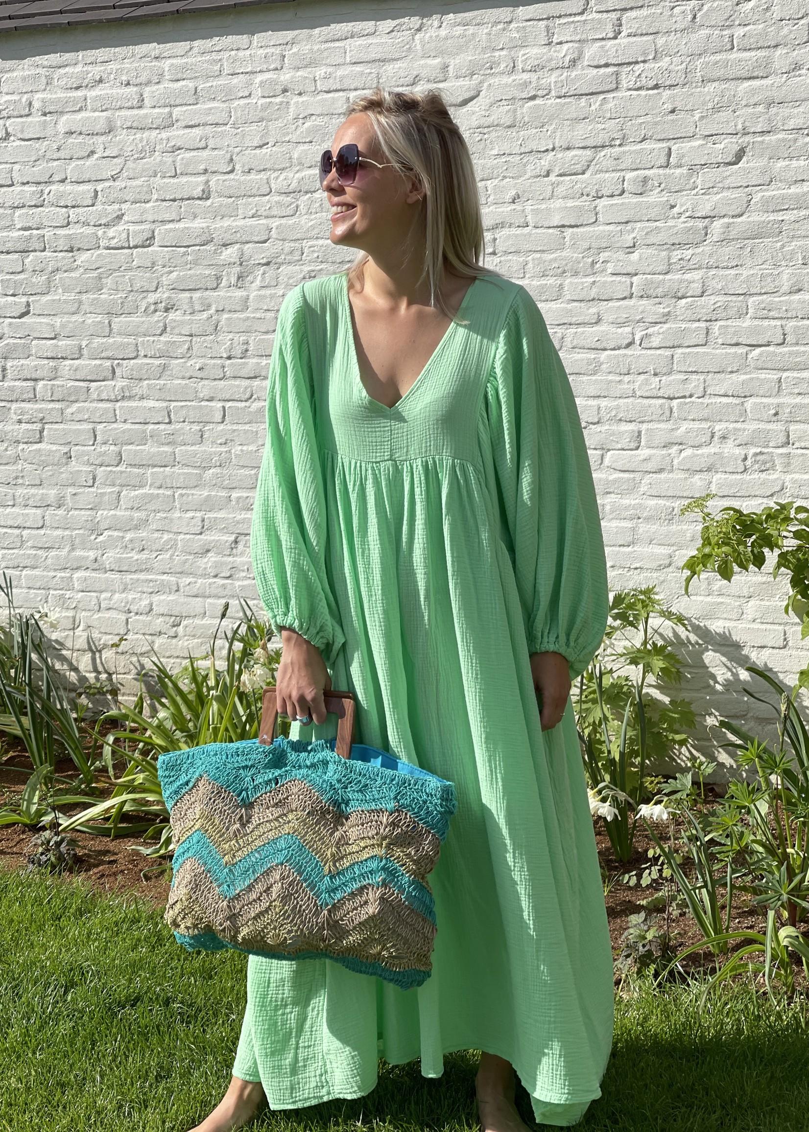 Guts & Goats Louanne Green Dress