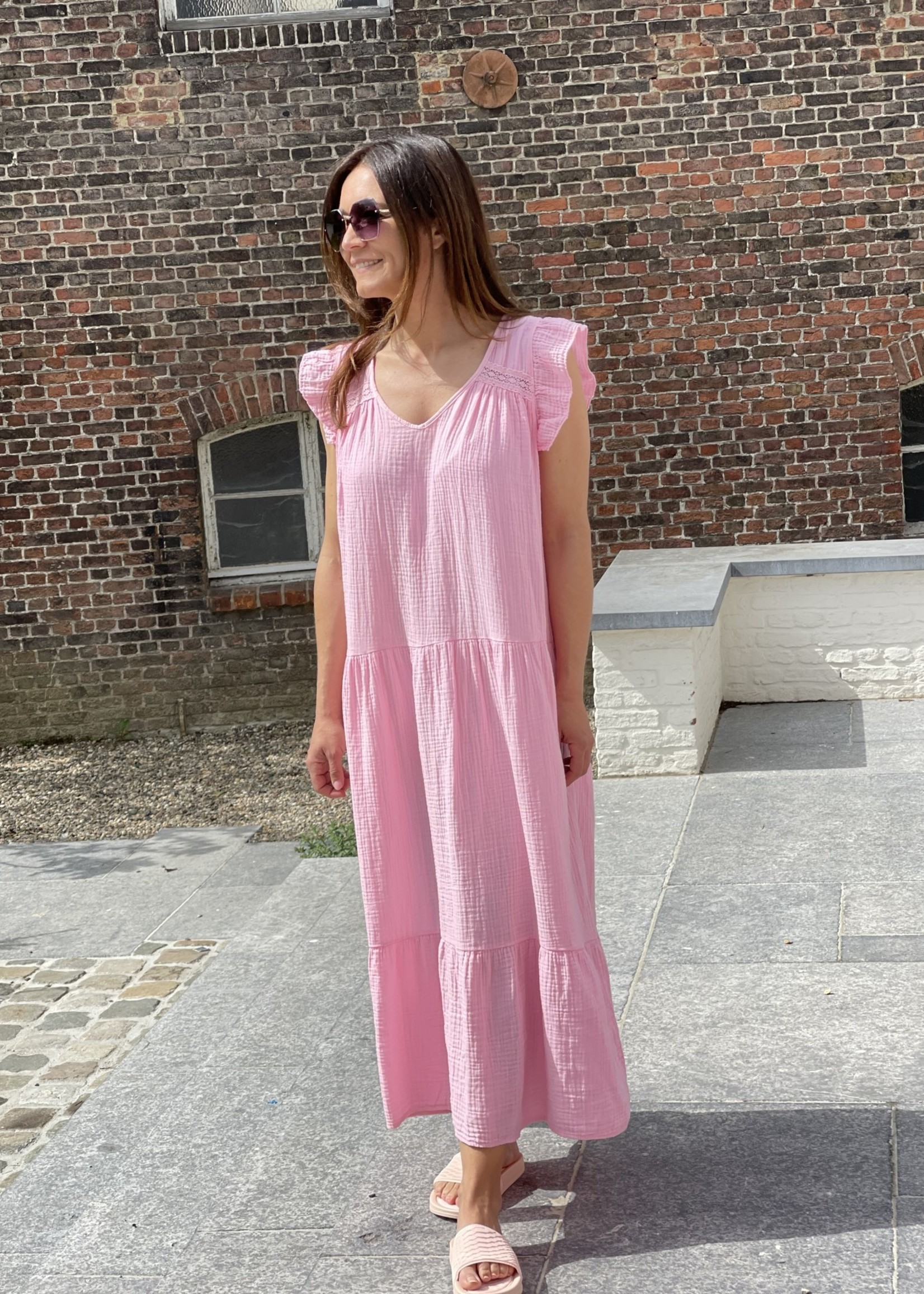 Guts & Goats Micheline Pink Dress