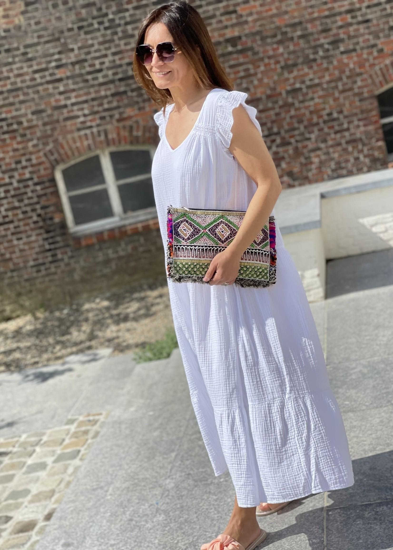 Guts & Goats Micheline White Dress