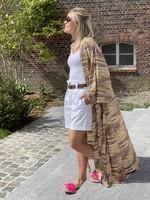 Guts & Goats Love Beige Kimono