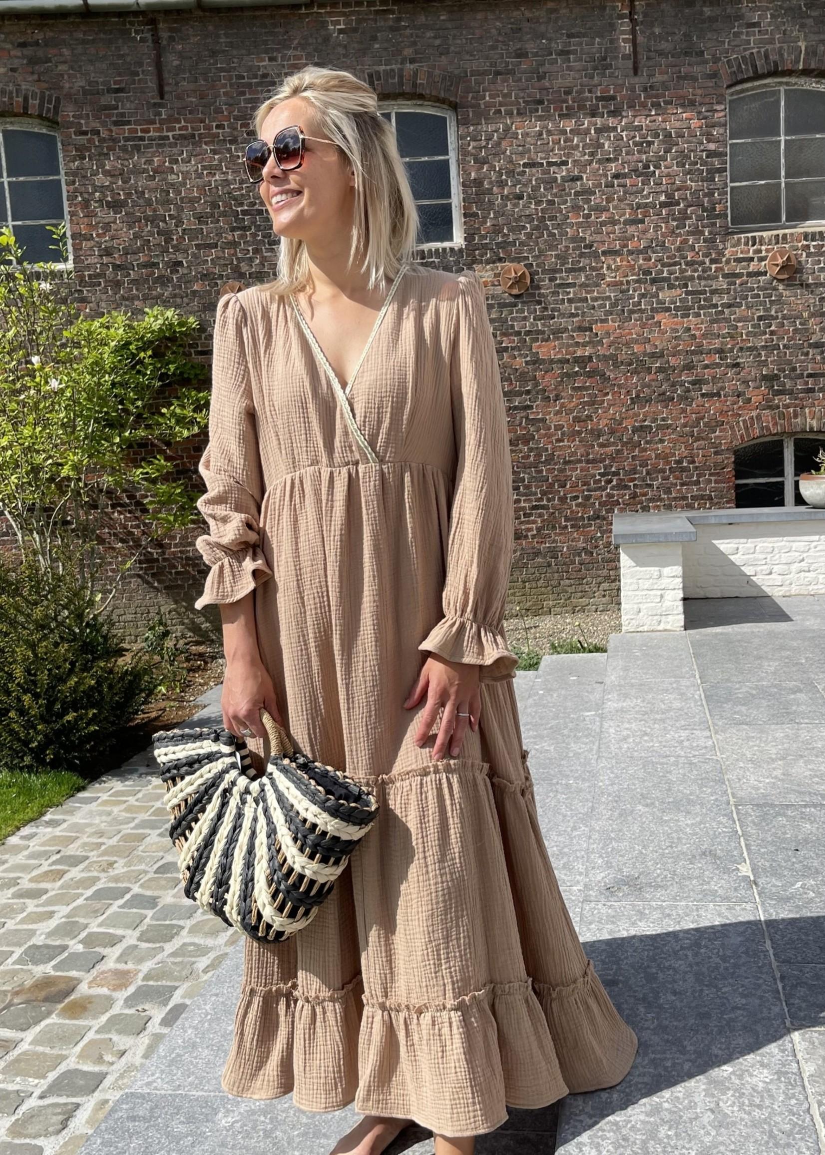 Guts & Goats Nikita Coffee Dress