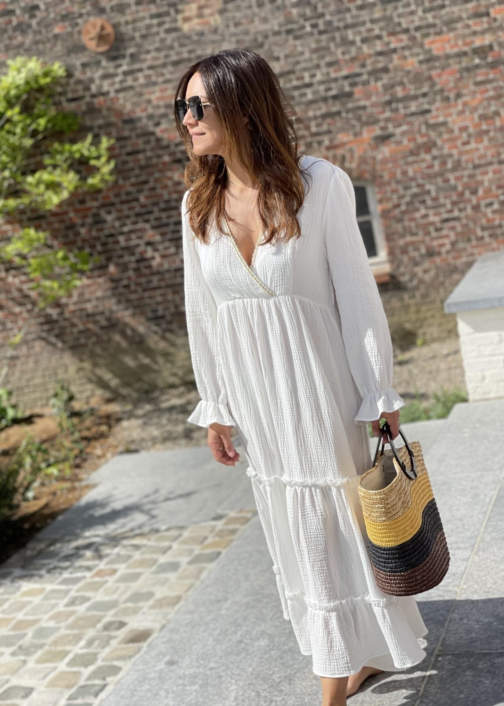 Guts & Goats Nikita White Dress