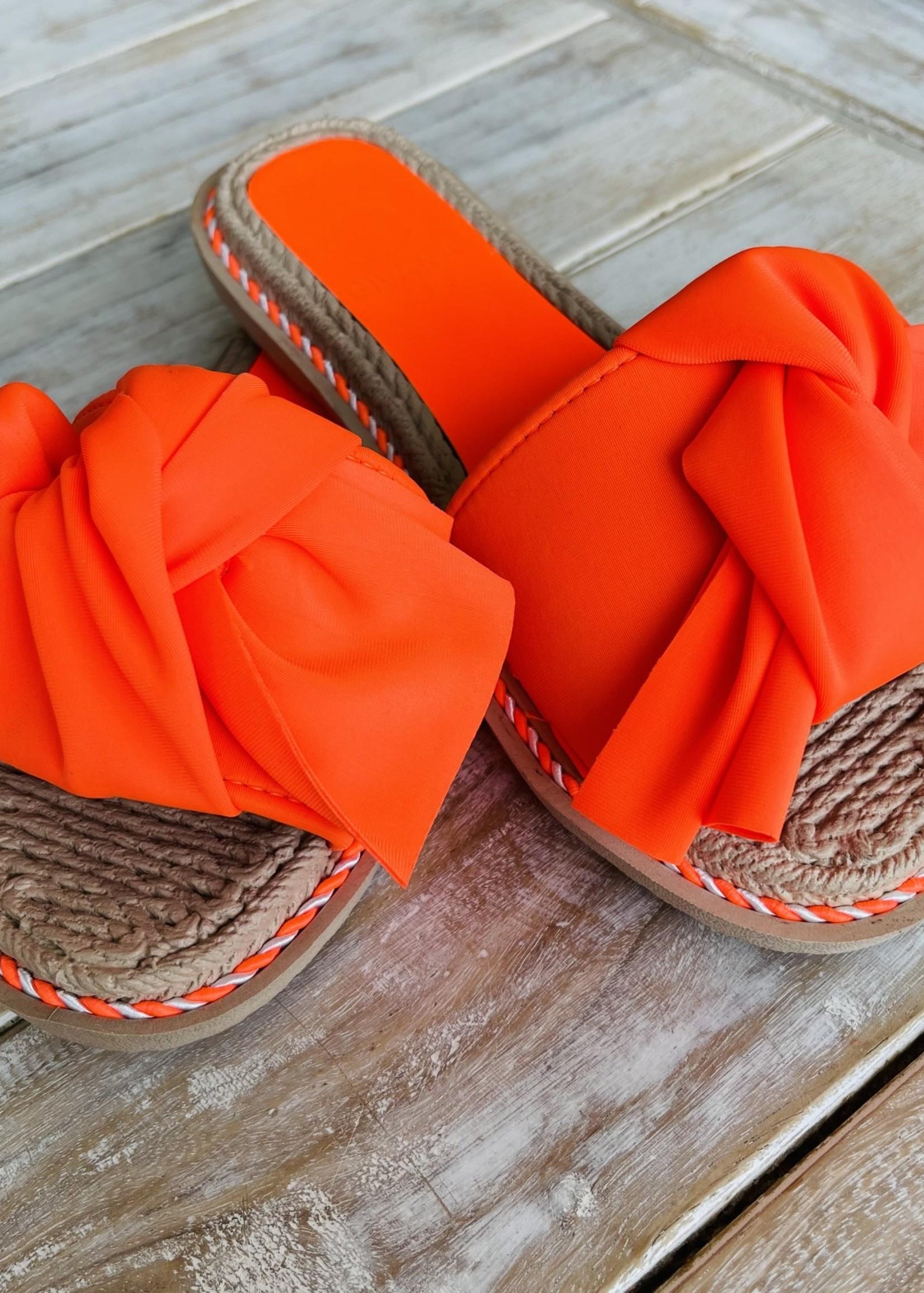 Guts & Goats Livanto Orange Sandals
