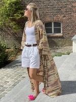 Guts & Goats Vera White Shorts