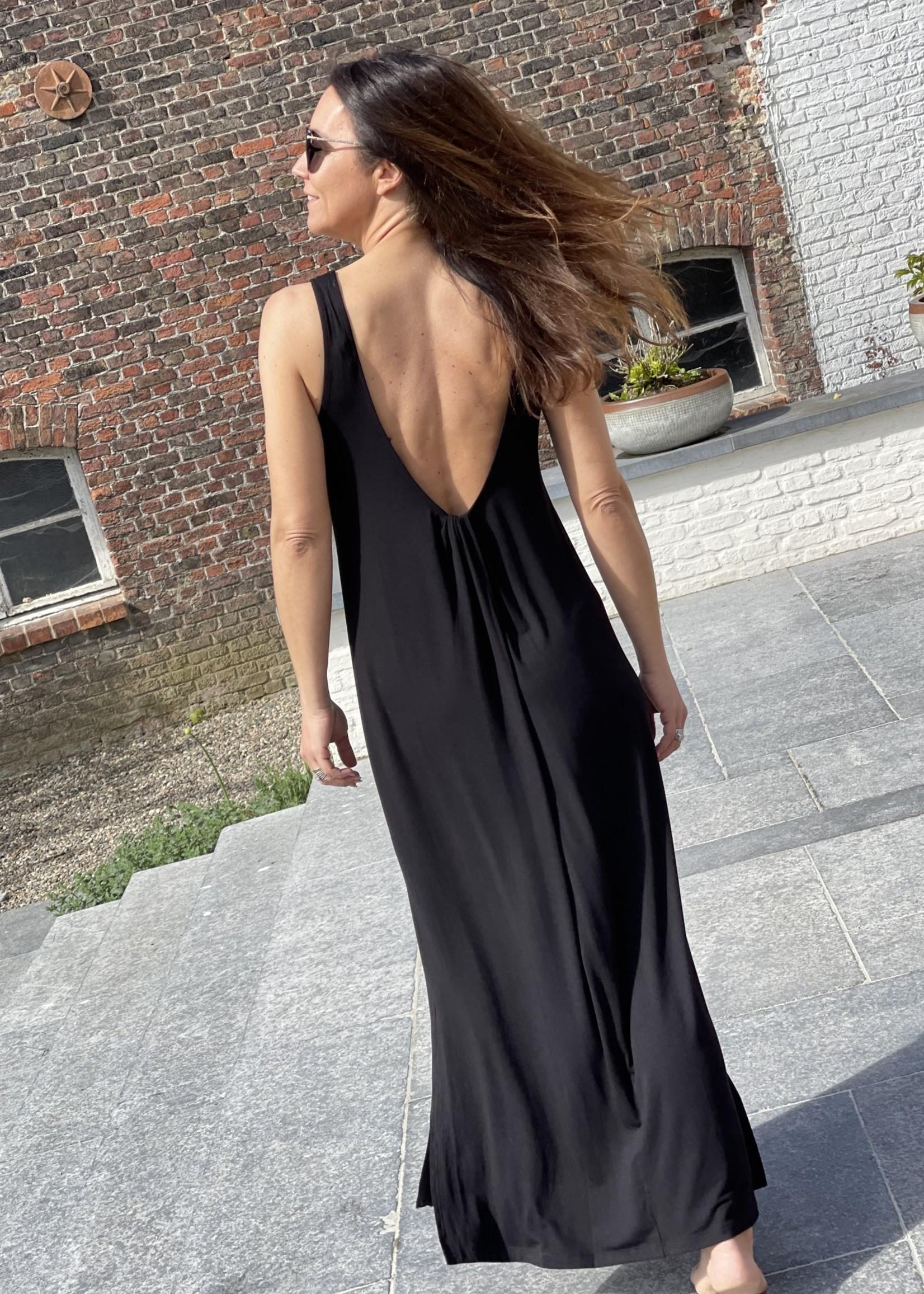 Guts & Goats Charly Black Dress