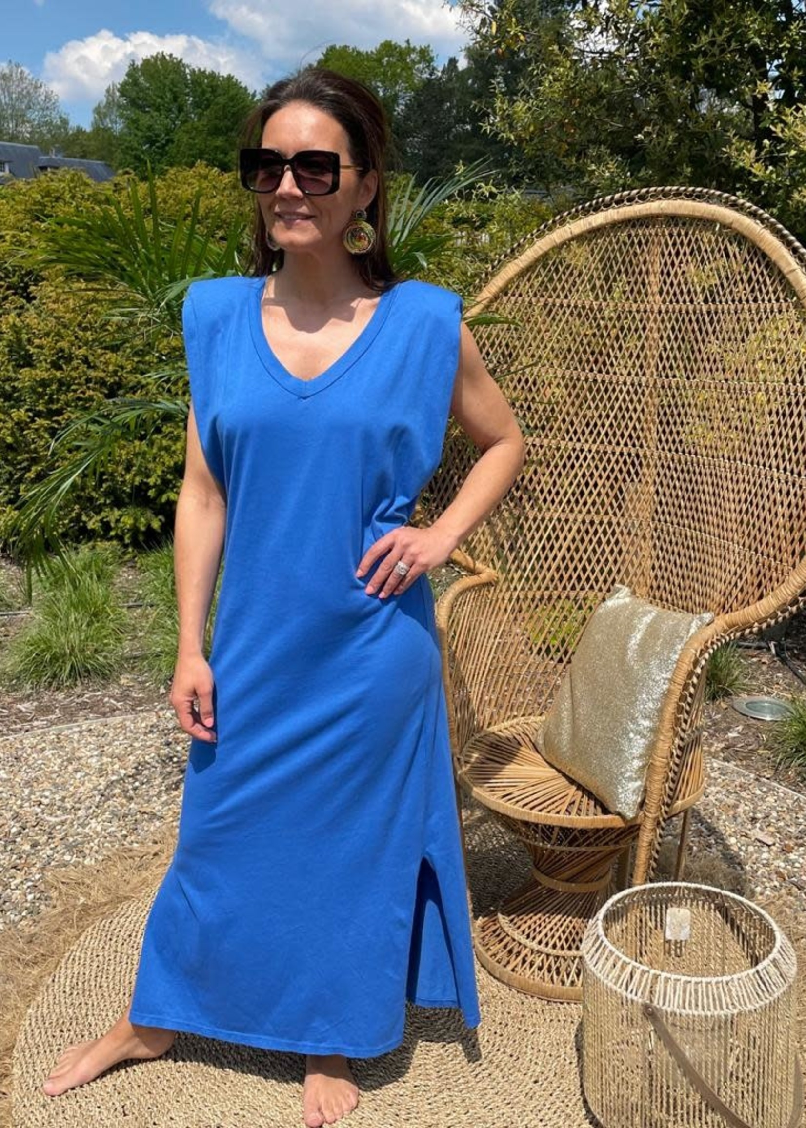 Guts & Goats Ruby Blue Dress