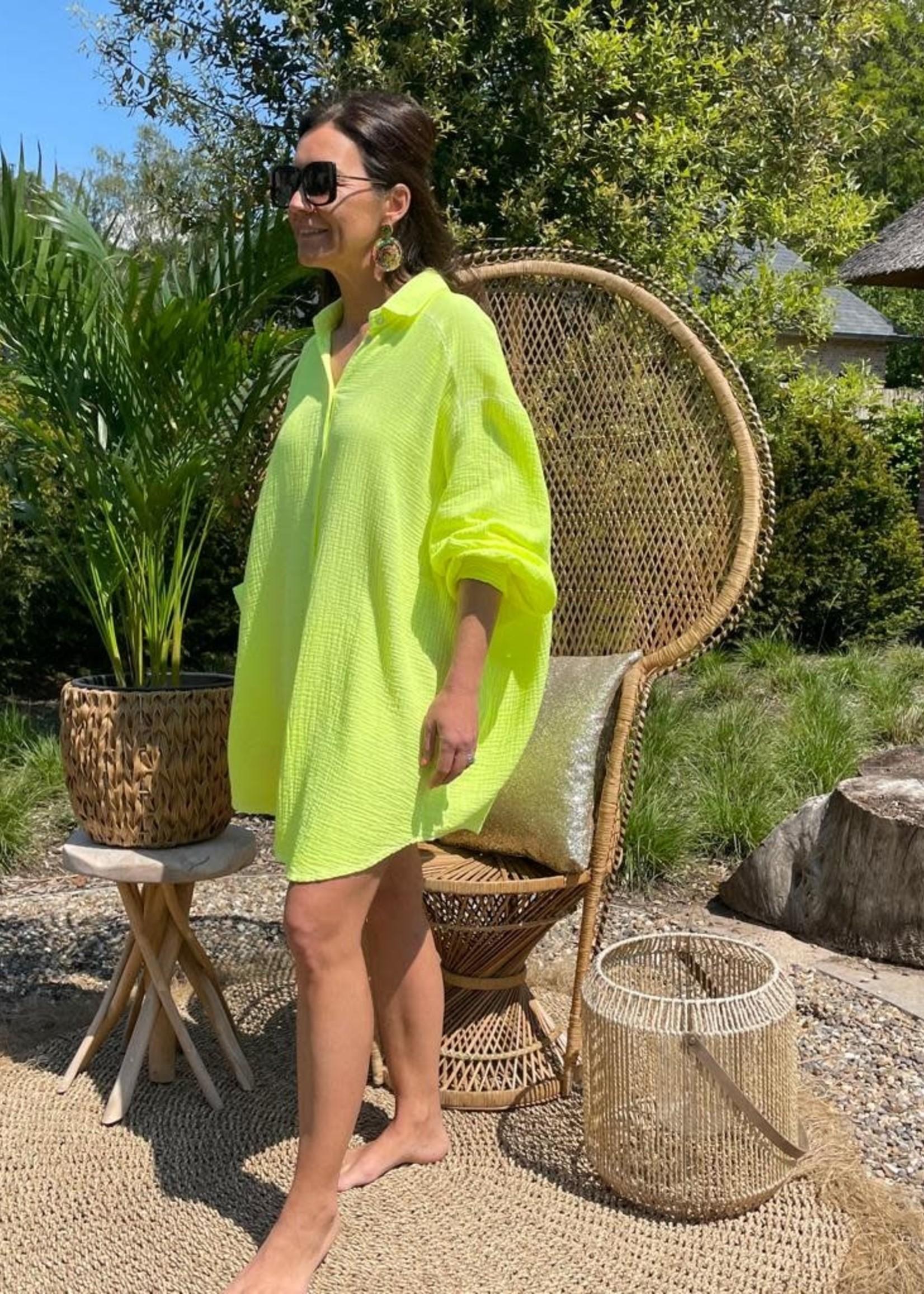 Guts & Goats Caleta Yellow Dress/Shirt