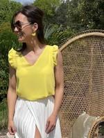 Guts & Goats Phaedra Yellow Shirt