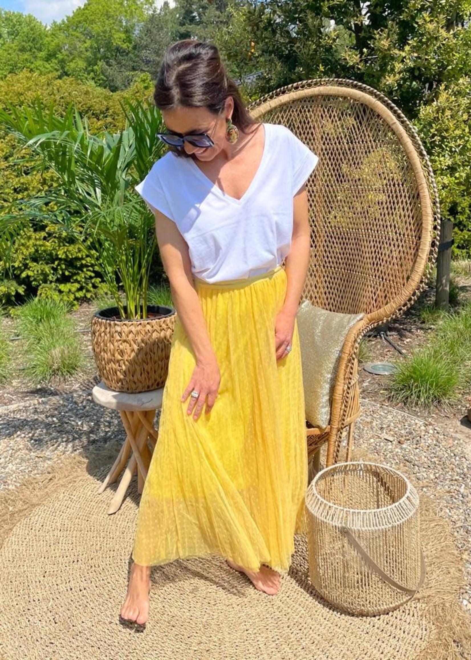 Guts & Goats Celia Yellow  Skirt