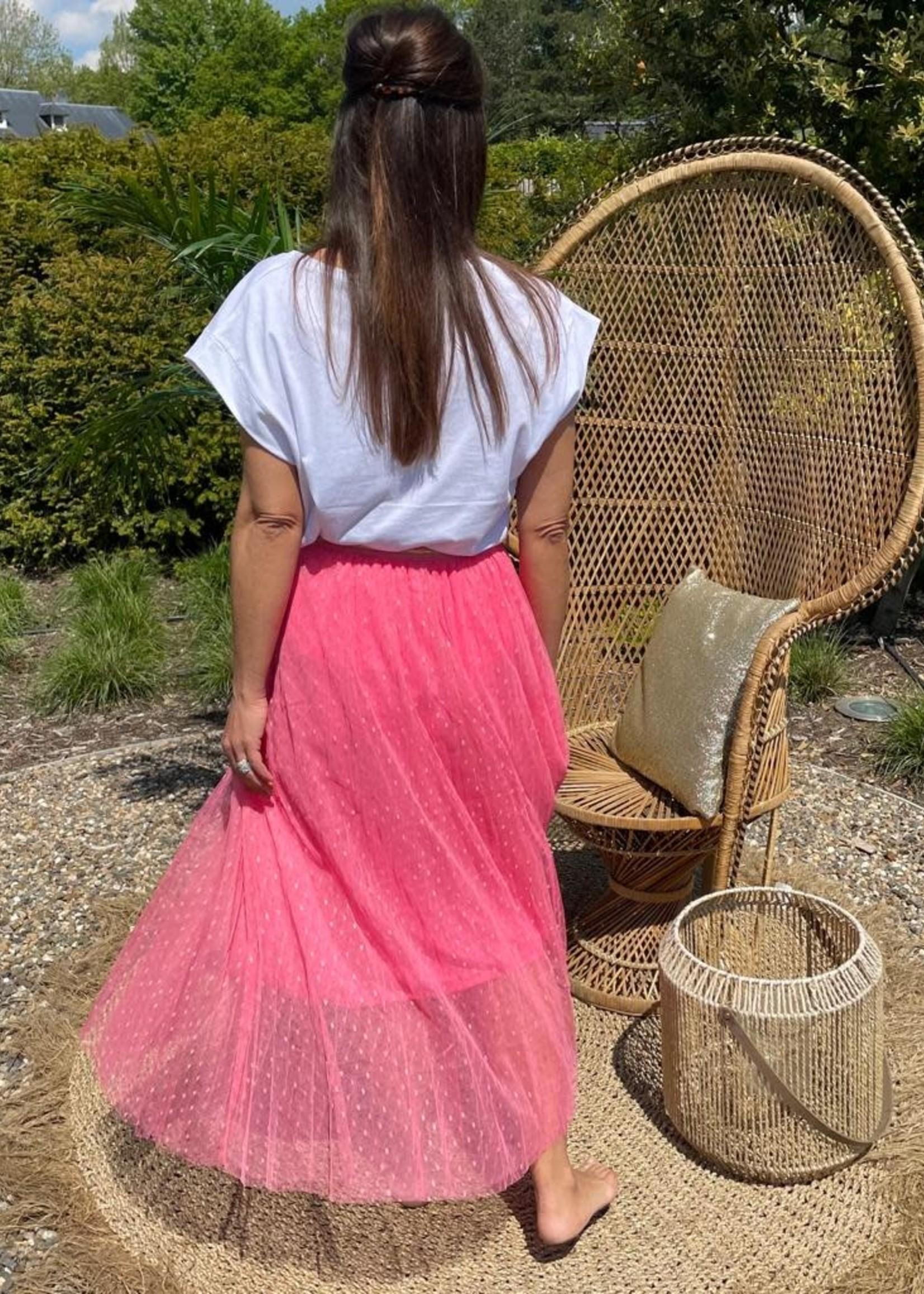 Guts & Goats Celia Pink Skirt