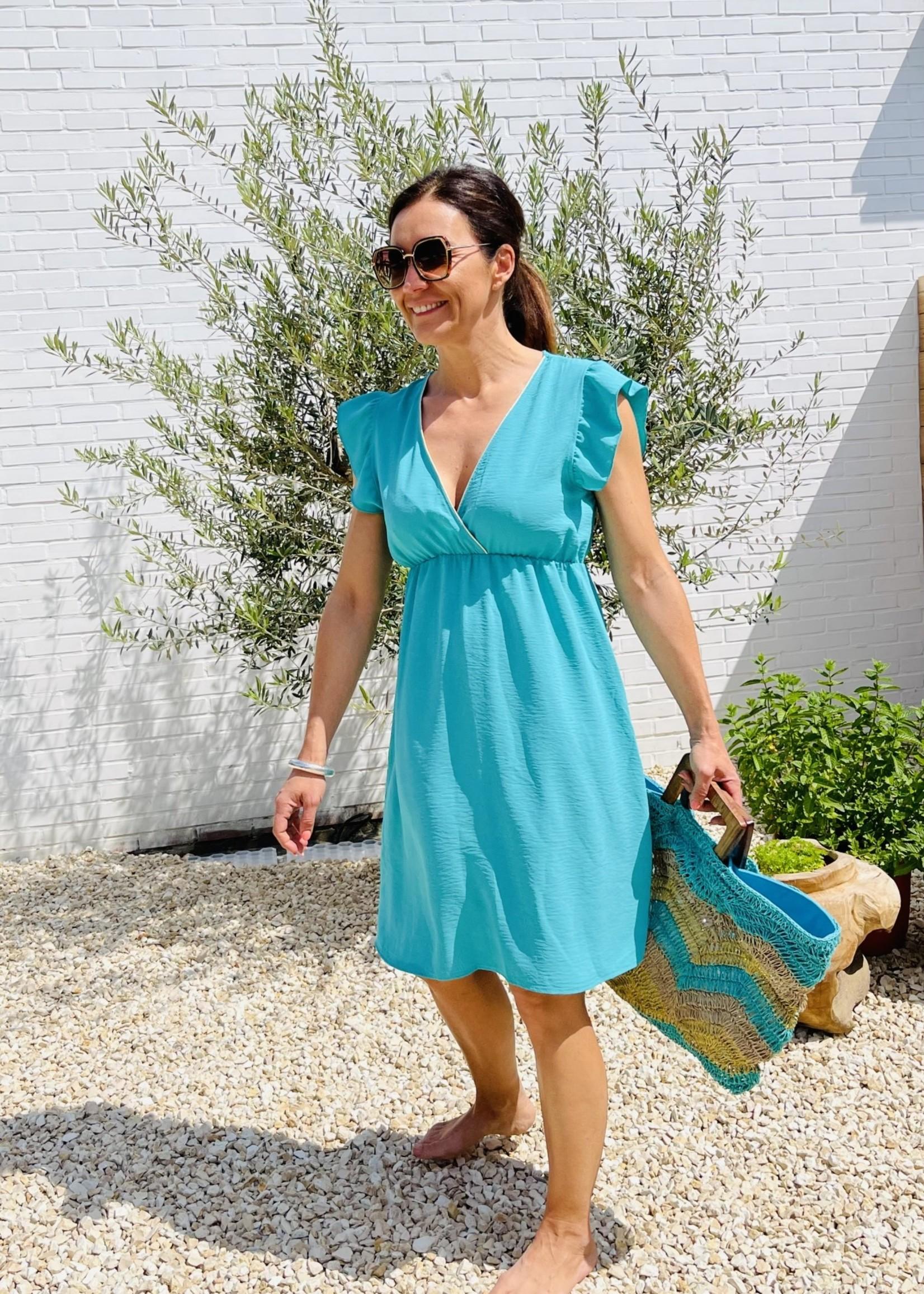 Guts & Goats Nova Green Dress
